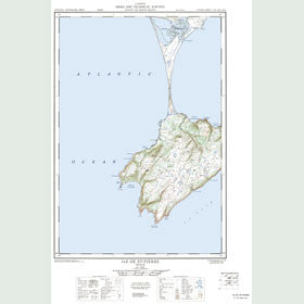 Canadian Topo Map - Map 011I16W