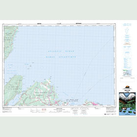 Canadian Topo Map - Bras d'Or - Map 011K08