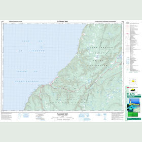 Canadian Topo Map - Pleasant Bay - Map 011K15