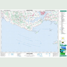 Canadian Topo Map - Charlottetown - Map 011L03