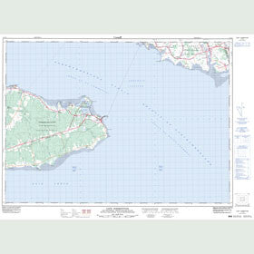 Canadian Topo Map - Cape Tormentine - Map 011L04