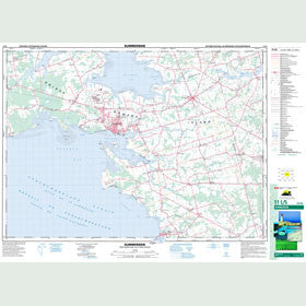 Canadian Topo Map - Summerside - Map 011L05