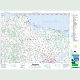 Canadian Topo Map - North Rustico - Map 011L06