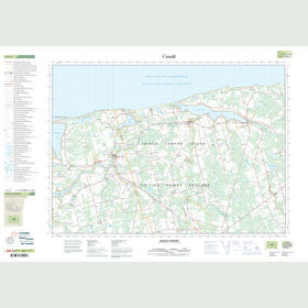 Canadian Topo Map - Mount Stewart - Map 011L07