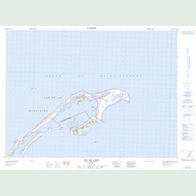 Canadian Topo Map - Grosse-Île - Map 011N12