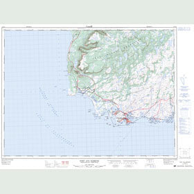 Canadian Topo Map - Port aux Basques - Map 011O11