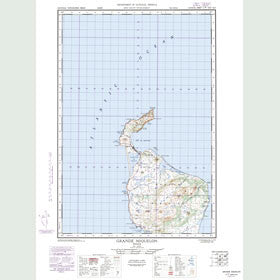 Canadian Topo Map - Map 011P01W