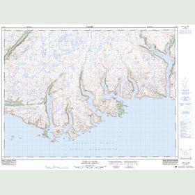 Canadian Topo Map - Cape la Hune - Map 011P10