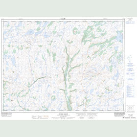 Canadian Topo Map - Peter Snout - Map 011P13