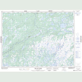 Canadian Topo Map - Noel Paul's Brook - Map 012A09