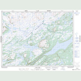 Canadian Topo Map - Star Lake - Map 012A11