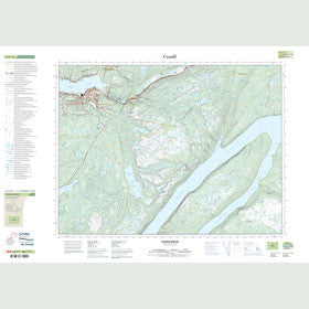Canadian Topo Map - Corner Brook - Map 012A13