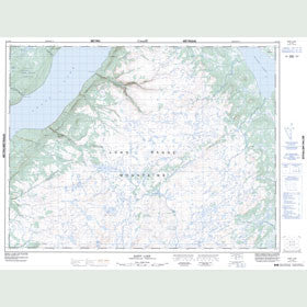 Canadian Topo Map - Rainy Lake - Map 012A14