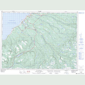 Canadian Topo Map - St. Fintan's - Map 012B02