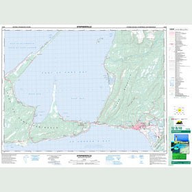 Canadian Topo Map - Stephenville - Map 012B10