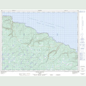 Canadian Topo Map - Pointe Carleton - Map 012E10