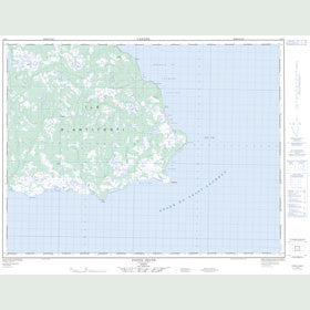 Canadian Topo Map - Pointe Heath - Map 012F04