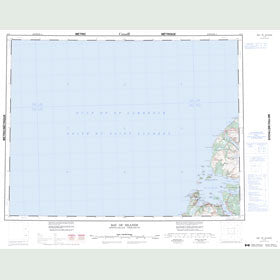 Canadian Topo Map - Bay of Islands - Map 012G