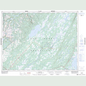 Canadian Topo Map - Cormack - Map 012H06