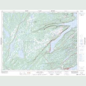 Canadian Topo Map - King's Point - Map 012H09
