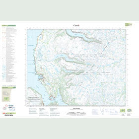 Canadian Topo Map - Gros Morne - Map 012H12