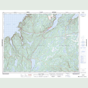 Canadian Topo Map - Baie Verte - Map 012H16