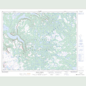 Canadian Topo Map - Indian Lookout - Map 012I03