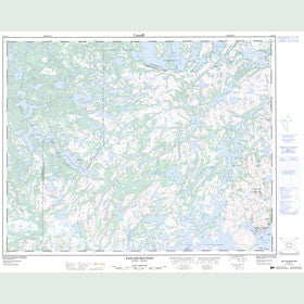 Canadian Topo Map - Baie-des-Moutons - Map 012J14