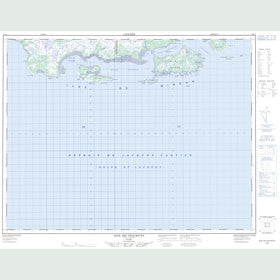 Canadian Topo Map - Baie des Trilobites - Map 012L03