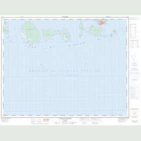 Canadian Topo Map - Havre-Saint-Pierre - Map 012L04