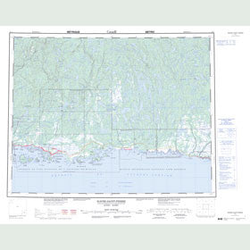 Canadian Topo Map - Havre-Saint-Pierre - Map 012L