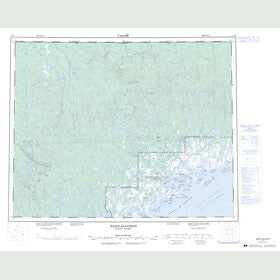 Canadian Topo Map - Saint-Augustin - Map 012O