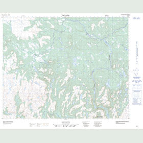 Canadian Topo Map - Stokers Hill - Map 012P15