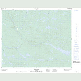 Canadian Topo Map - Map 013C11