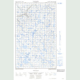 Canadian Topo Map - Map 013C14E
