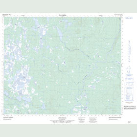 Canadian Topo Map - Map 013C16