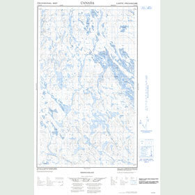 Canadian Topo Map - Map 013D14E