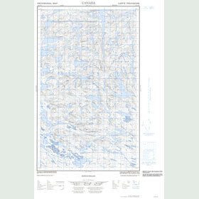 Canadian Topo Map - Map 013D15E