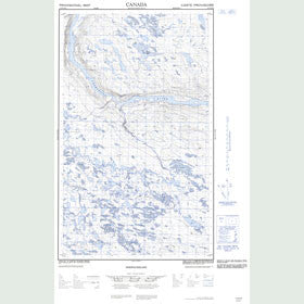 Canadian Topo Map - Map 013D16E