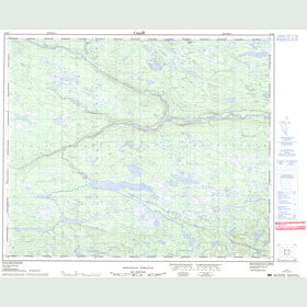 Canadian Topo Map - Map 013E04