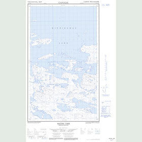 Canadian Topo Map - Map 013E13W