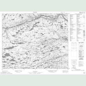 Canadian Topo Map - Map 013F06