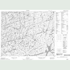 Canadian Topo Map - Map 013G06