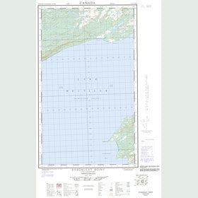 Canadian Topo Map - Etagaulet Point - Map 013G14E