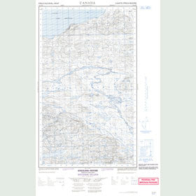 Canadian Topo Map - Neveisik Island - Map 013G15E