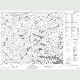 Canadian Topo Map - Map 013H01