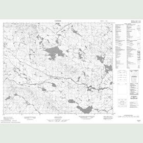 Canadian Topo Map - Map 013H02