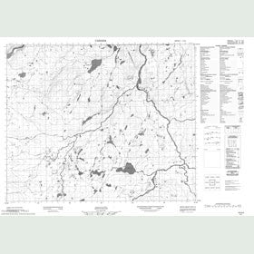 Canadian Topo Map - Map 013H04