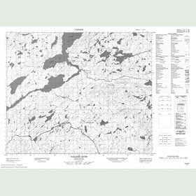 Canadian Topo Map - Paradise River - Map 013H06