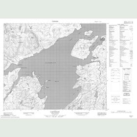 Canadian Topo Map - Cartwright - Map 013H11